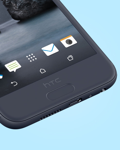 Clay HTC A9 Phone Mockup