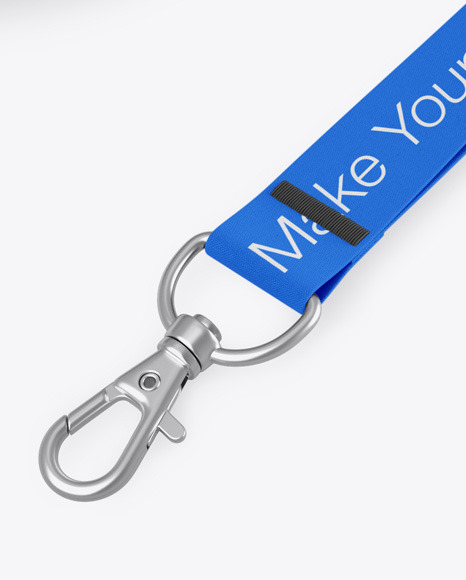 Lanyard Mockup In Object Mockups On Yellow Images Object Mockups