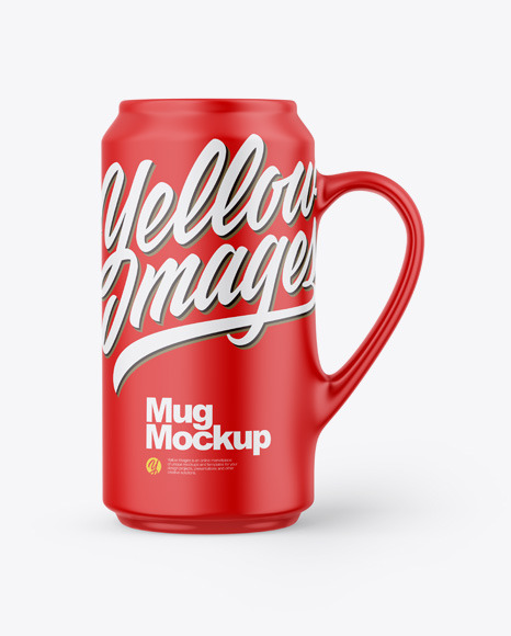 Download Matte Mug PSD Mockup