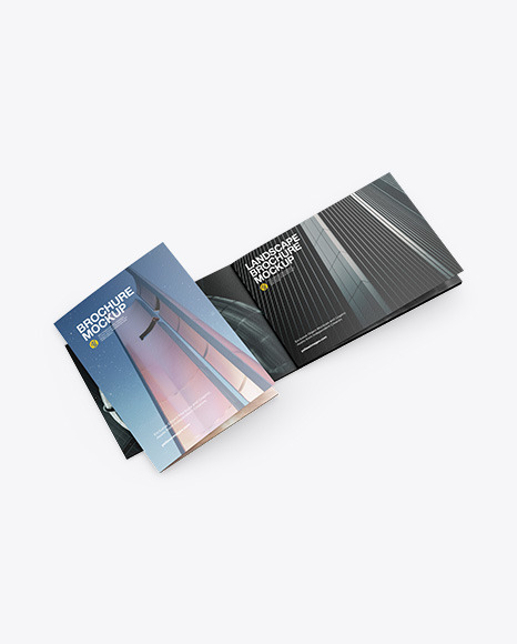Download Two Textured Paper Booklets PSD Mockup