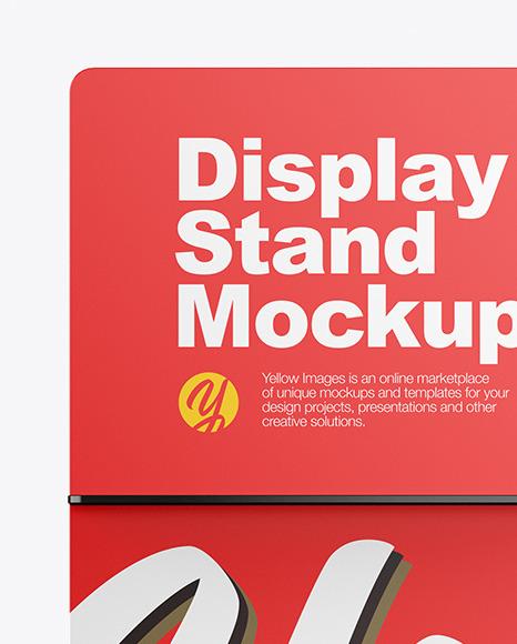 Display Stand Mockup