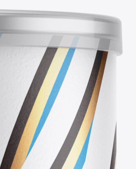 Matte Snack Tube w/ Chips & Transparent Cap Mockup