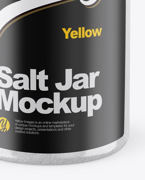 Salt Jar Mockup