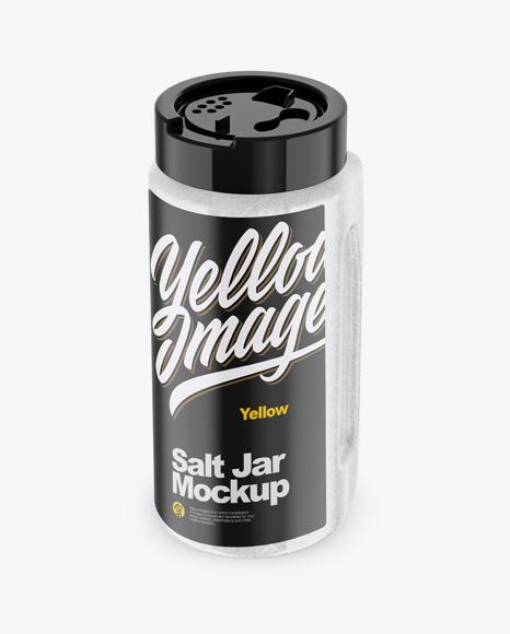 Download Salt Jar PSD Mockup