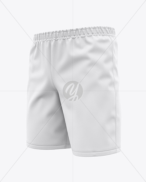 Men's Woven Training Shorts - Front Half-Side View