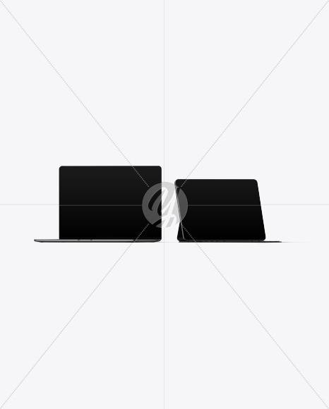 Macbook Pro 15 and iPad Pro Mockup