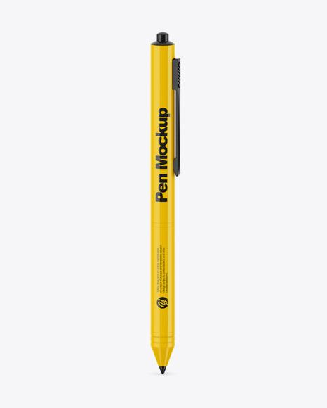 Download Glossy Pen PSD Mockup