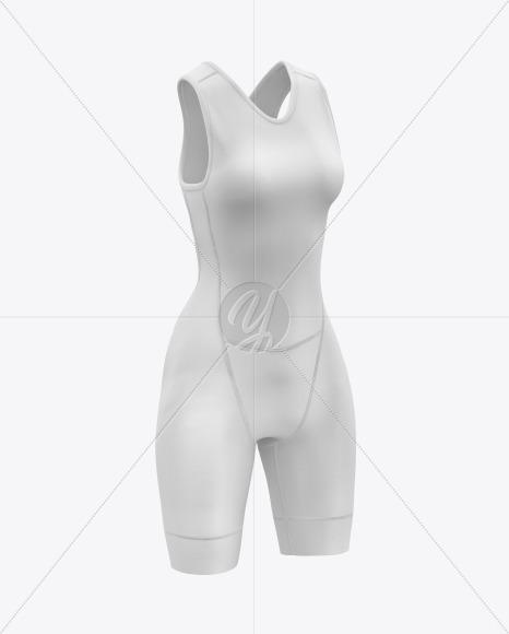 Women's Trisuit Mockup