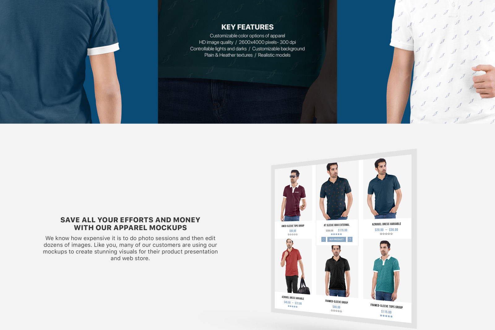 Men S Polo T Shirt Mockup Set In Apparel Mockups On Yellow Images
