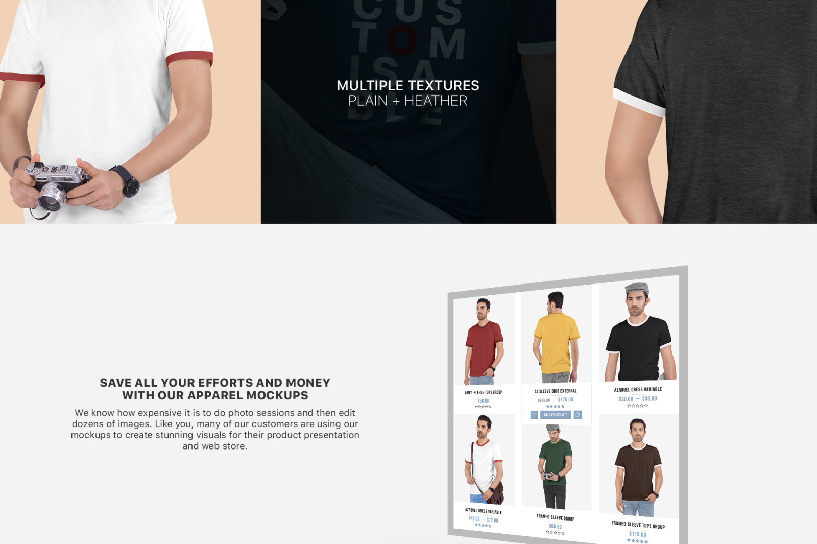 Download High Resolution T Shirt Mockup Vector Yellow Images