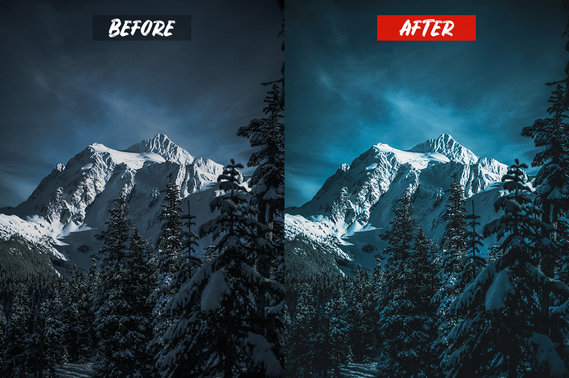 Mobile Lightroom Presets
