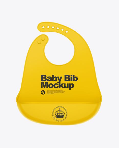 Download Baby Bib Mockup Free Yellowimages