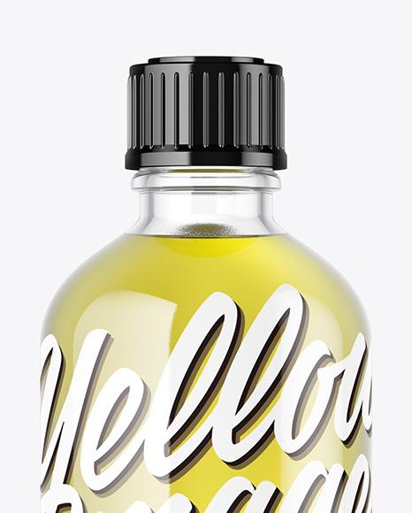 Oil Bottle Mockup