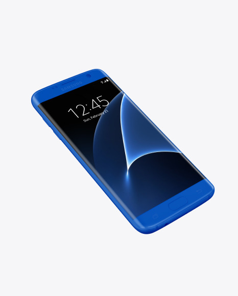 Download Clay Samsung Galaxy S7 Phone PSD Mockup