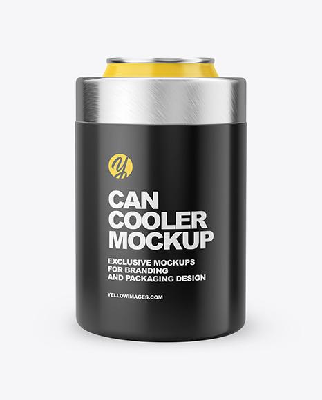 Download Can Cooler PSD Mockup