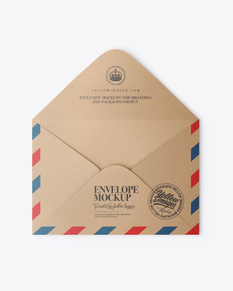 Download Kraft Envelope PSD Mockup