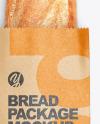 Kraft Package w/ Bread Mockup