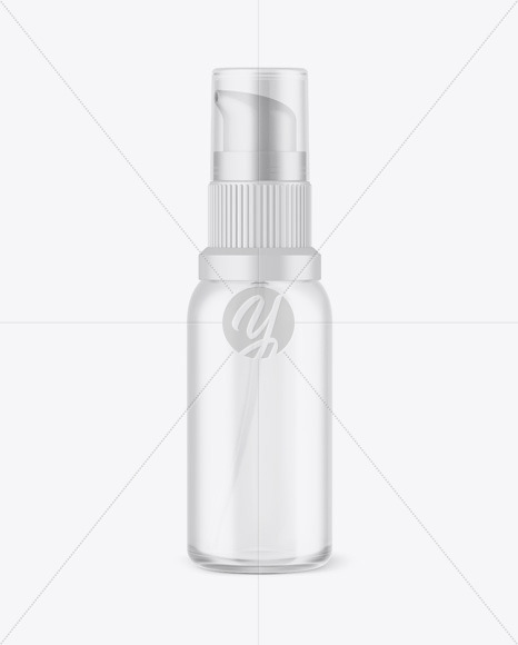 Frosted Cosmetic Bottle Mockup