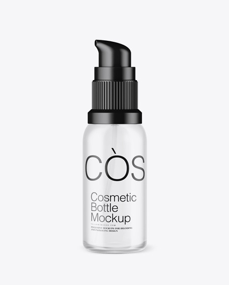 Download Frosted Cosmetic Bottle PSD Mockup