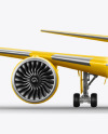 Airliner Mockup - Front View