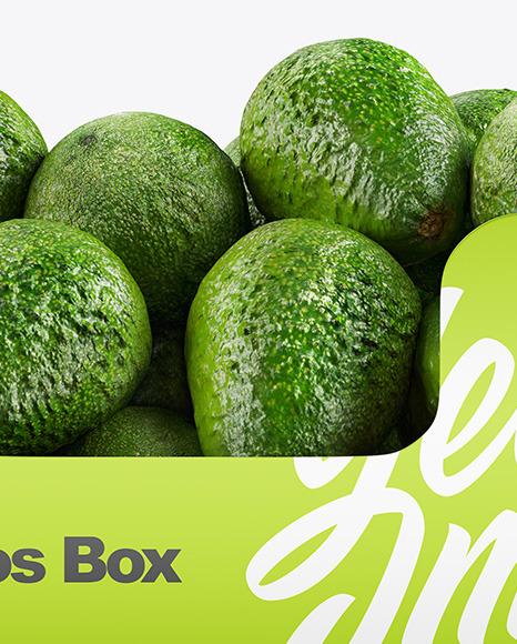 Box With Avocado