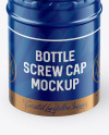 Glossy Screw Cap Mockup
