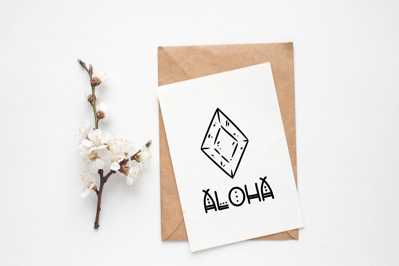 Otomi - Tribal Style Font
