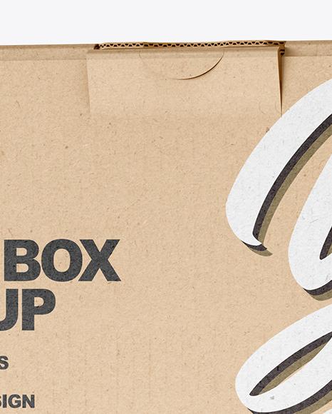 Kraft Paper Box Mockup