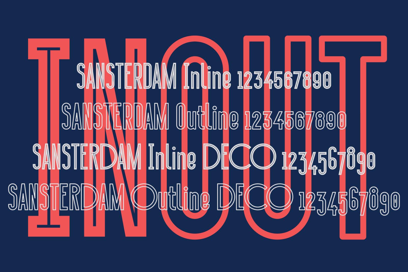 Sansterdam Inline & Outline