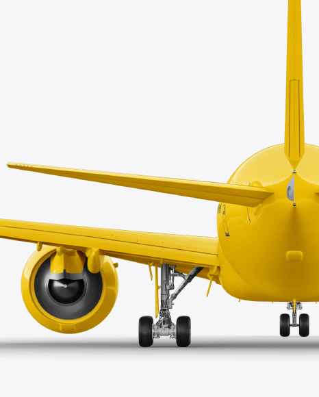 Airliner Mockup - Back View