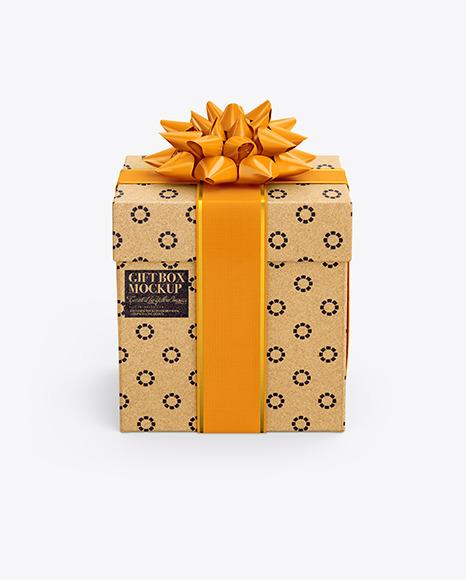 Download Gift Box Mockup PSD - Free PSD Mockup Templates