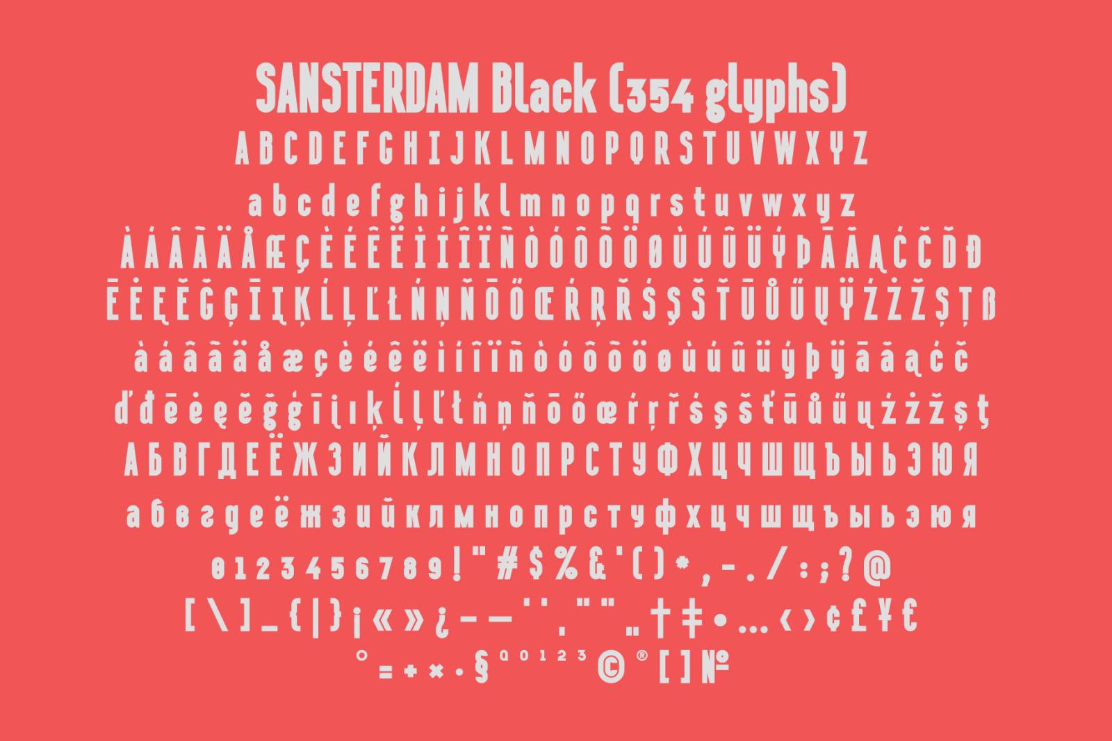 Sansterdam Black & Script