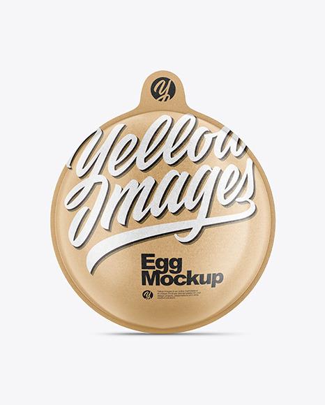 Kraft Chocolate Egg Pack Mockup