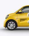 Smart Fortwo Mockup - Side View