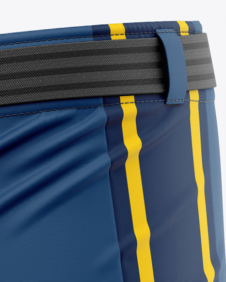 Hockey Pants Shell - Front Half-Side View
