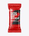 Paper Snack Bar Mockup