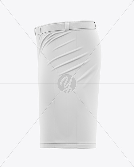Hockey Pants Shell - Side View