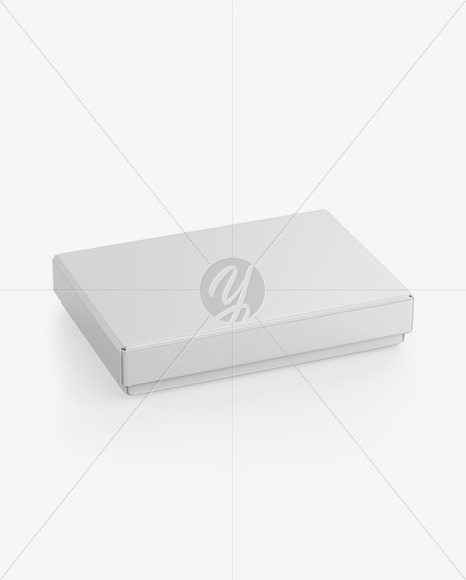 Matte Gift Box Mockup