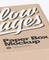 Two Kraft Boxes Mockup