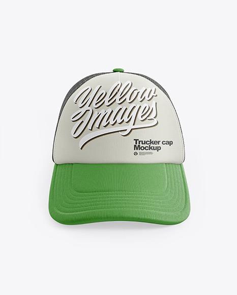 Trucker Cap Mockup