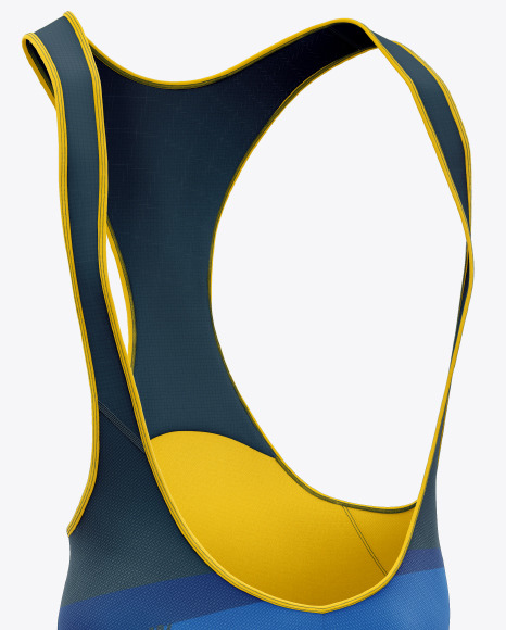 Men's Cycling Bib Shorts Mockup