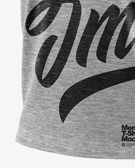 Melange Men's T-Shirt Mockup