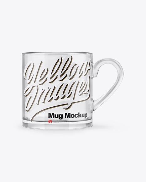 Glass Mug Mockup