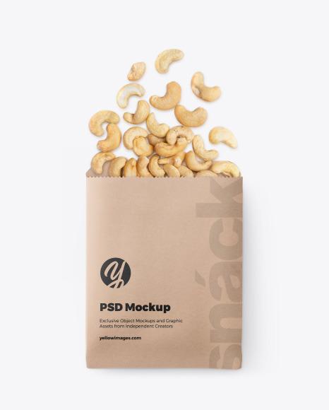 Paper Snack Pack Mockup