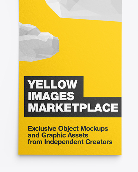 Textured Flyer Mockup