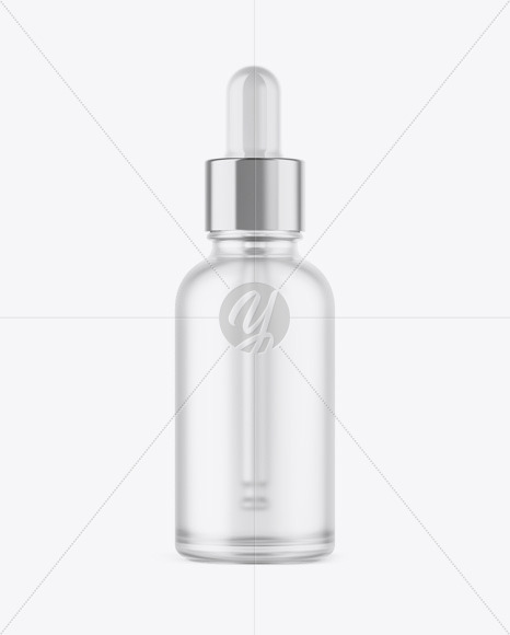 Frosted Sprayer Bottle With Metallic Cap Mockup