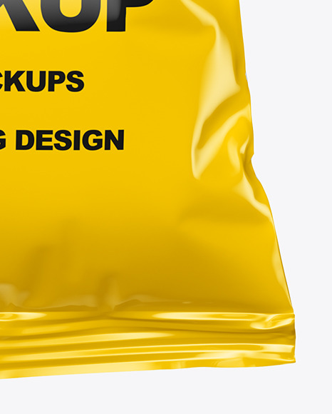 Download Snack Package Mockup In Free Mockups On Yellow Images Object Mockups PSD Mockup Templates