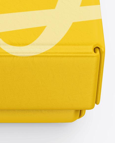 Textured Gift Box Mockup