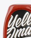 Tomato Sauce Bottle Mockup