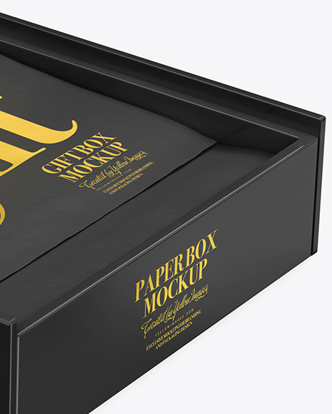 Jewelry Box Mockup Psd Free
